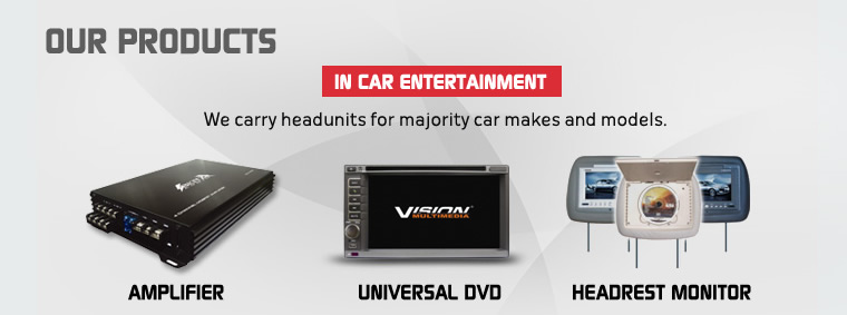 Our products - In Car Entetainment