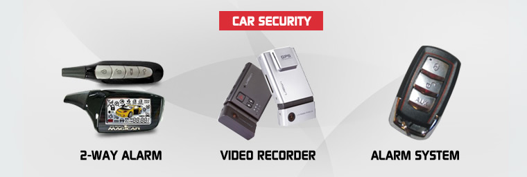 Our products - Car Security