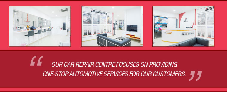 One stop automotive services