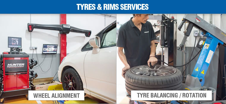 Tyres & Rims Services