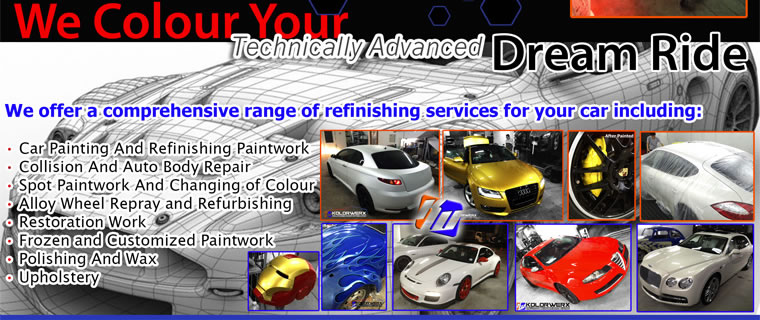 We Color Your Technically Advanced Dream Car