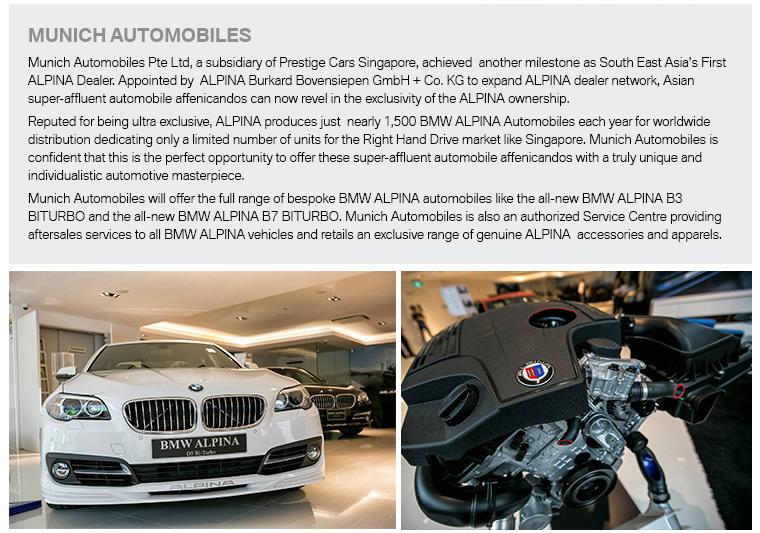 Munich Automobiles BMW ALPINA SgCarMart - Bmw alpina accessories