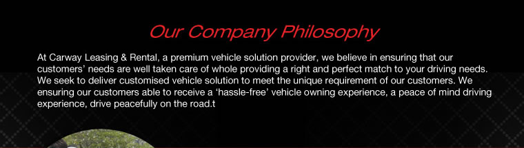 Our Company Philosophy