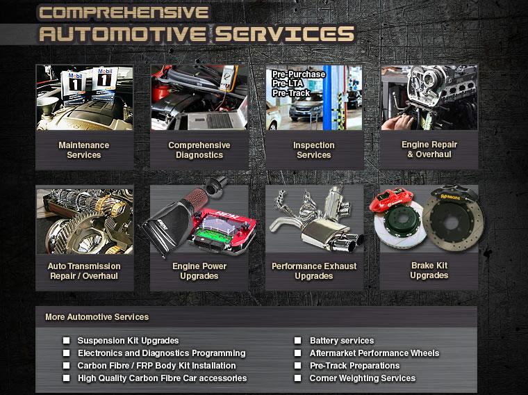 COMPREHENSIVE AUTOMOTIVES SERVICES