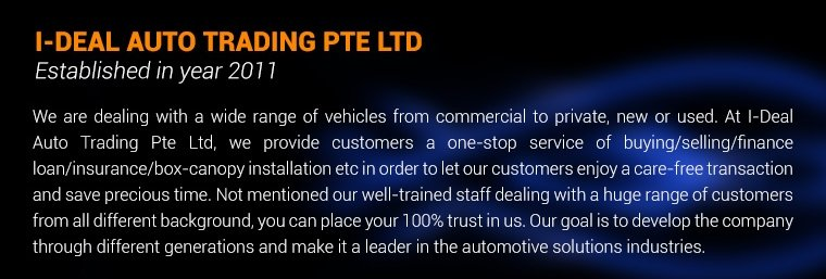 I-Deal Auto Trading Pte Ltd
