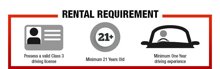 Rental Requirement