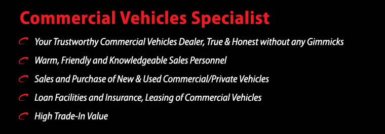 Commercial Vehicle Specialist