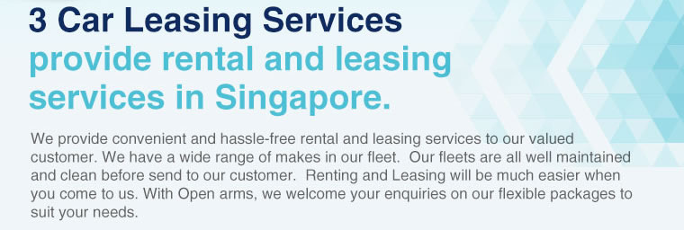 3 Cars Leasing Services