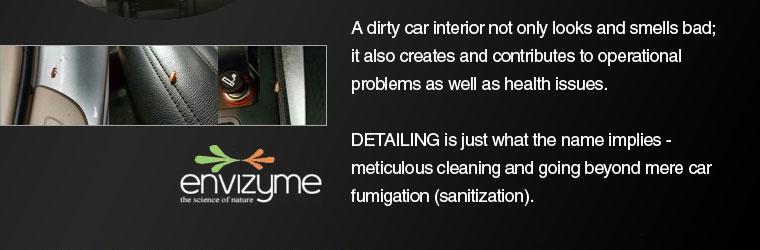 A Dirty Car Interior