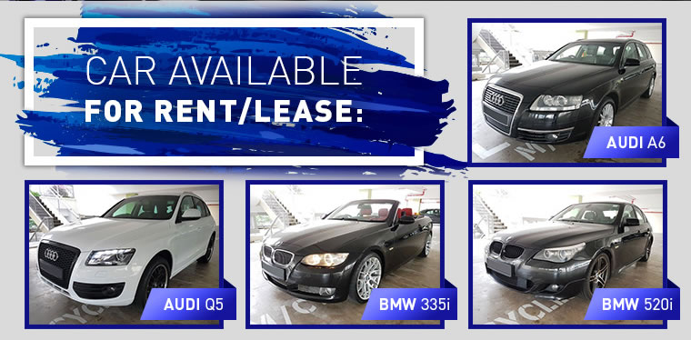 Car Available for Lease and Rent