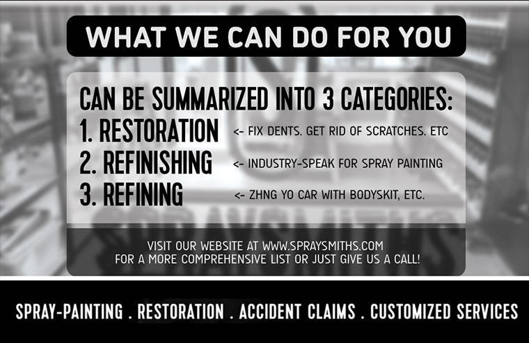 what we can do for you