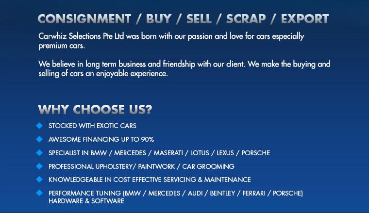 Carwhiz Selections Pte Ltd - sgCarMart