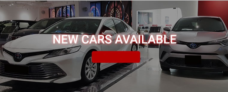 New cars available