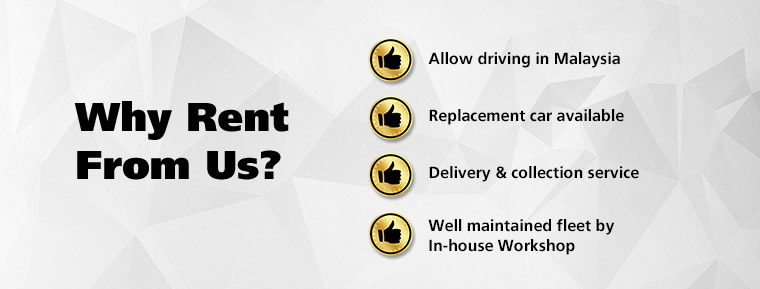 Why rent from us?