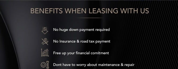Benifits when leasing with us