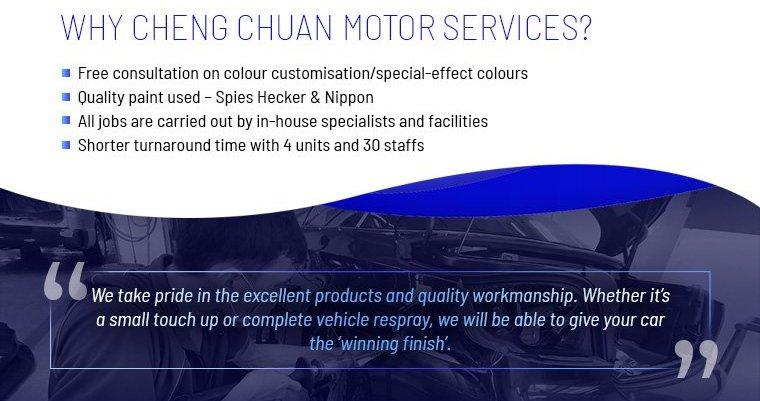 Why choose Cheng Chuan