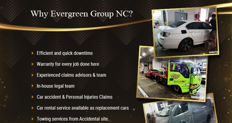 why evergreen group NC