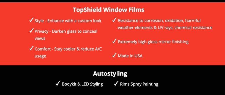 topshield window films