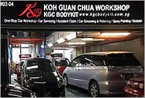 KGC Workshop Pte Ltd (Koh Guan Chua Workshop)