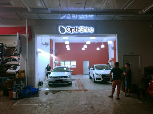 Opti shine pte ltd sgcarmart for Best car paint shop