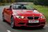 BMW M Series M3 Convertible