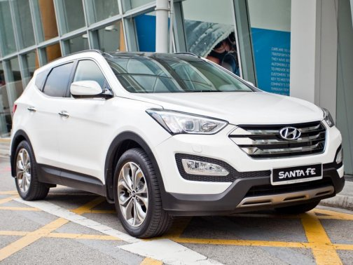 Pictured Hyundai Santa Fe 2.4 GLS 7 Seater Sunroof (A)