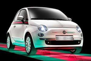 2012 Fiat 500 Gucci Luxury Convertible Accessories & Parts