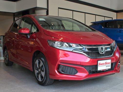 New Honda Fit Hybrid Photos Photo Gallery Sgcarmart