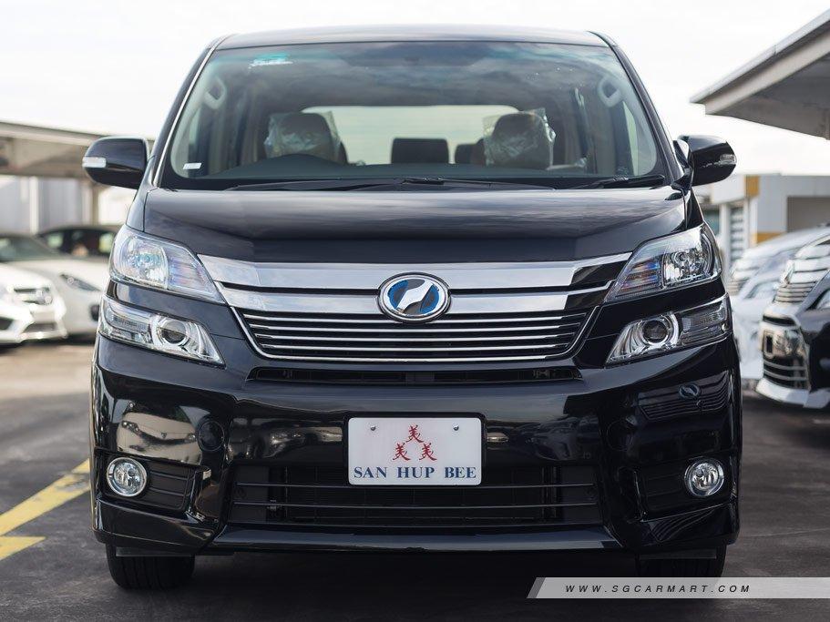 New Toyota Vellfire Hybrid Photos, Photo Gallery - sgCarMart