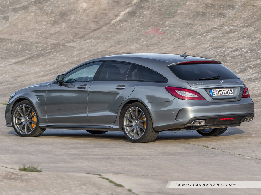 New Mercedes Benz Cls Class Shooting Brake Photos Photo Gallery