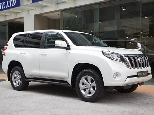 Toyota Cars Models >> New Toyota Land Cruiser Prado 2016 Photos, Photo Gallery - sgCarMart