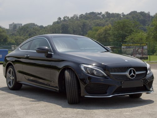 New Mercedes Benz C Class Coupe Photos Photo Gallery Sgcarmart