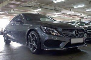 New Mercedes-Benz C-Class Coupe Car Information Singapore