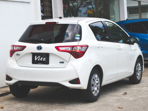 Pictured Toyota Vitz Hybrid 1 5 F A