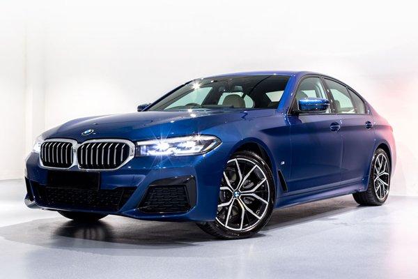 BMW 5 Series Sedan Mild Hybrid