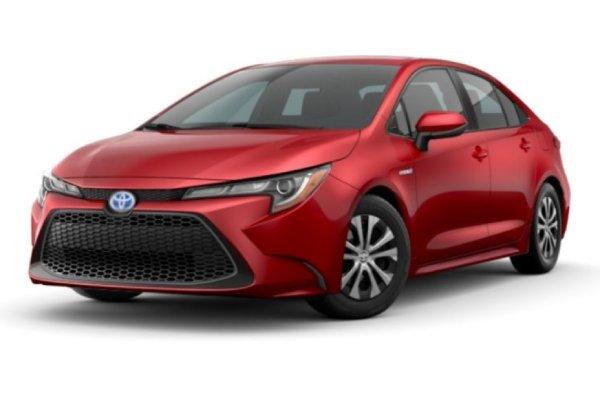 Toyota Corolla Sedan Hybrid Platinum Motoring Edition