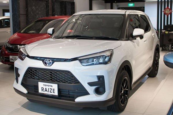 Toyota Raize Car Regency Edition