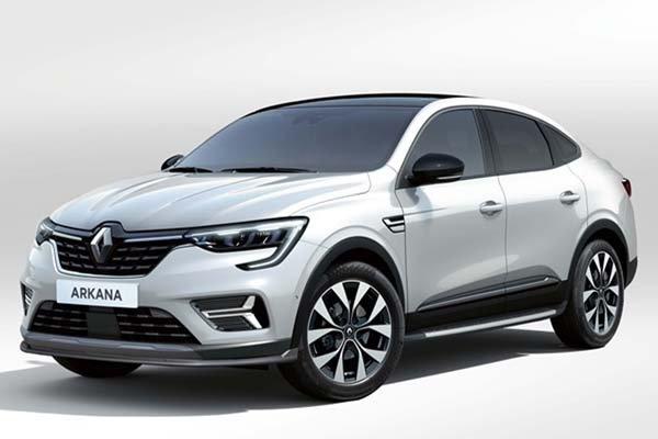Renault Arkana Fastback E-Tech Hybrid