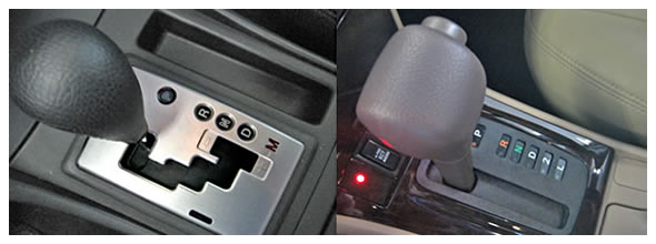 Semi Automatic Transmission Is Easily Recognized By The And Signs As Shown On Left