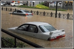 How to drive safely in flood