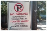 Road markings and parking restrictions in Singapore