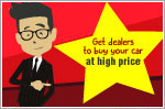 How to get dealers to buy your car at high price