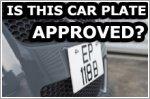 Six obsessive-compulsive car plate rules