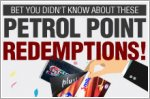 What other rewards can you redeem with your petrol points?