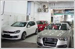 Nine specialist workshops for VW and Audi cars