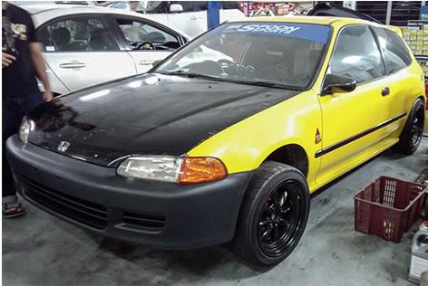 Yellow Car 2
