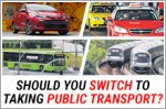 Should you sell your car and switch to taking public transport?