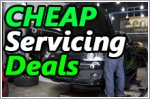 Workshops that offer cheap car servicing package promotions under $70