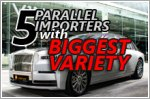 5 Parallel Importers with biggest variety of cars