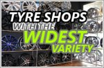 Tyre shops in Singapore with wide variety of rims